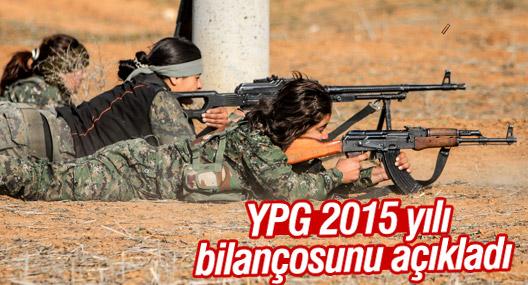 YPG 2015 yılı bilançosunu açıkladı