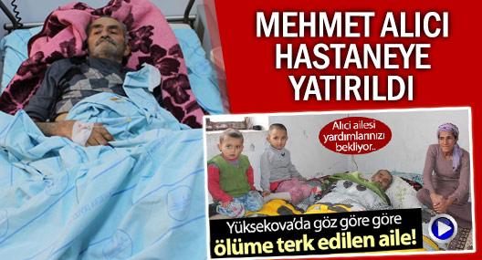 Alıci ailesinin dramı: Baba Mehmet Alıci hastaneye yatırıldı