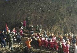 Çin'deki toprak kayması: 11 kişi tutuklandı