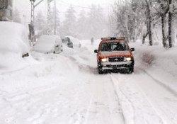 5 ilçe için etkili kar uyarısı