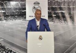 Real Madrid'in yeni menajeri Zinedine Zidane