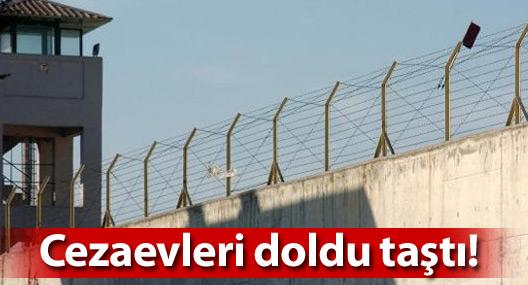 Türkiye'de cezaevleri kapasiteyi aştı