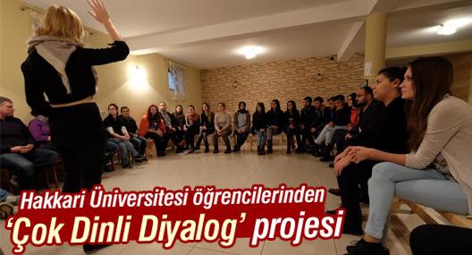 Hakkari Üniversitesi öğrencilerinden 'Çok Dinli Diyalog' projesi