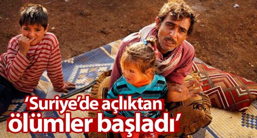 Kızıl Haç: Suriye kasabalarında açlıktan ölümler başladı