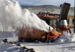 Iğdır'da 34 köy yolu ulaşıma kapandı
