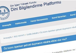 'Ensest'e fetva veren Diyanet'in soru platformu kaldırıldı