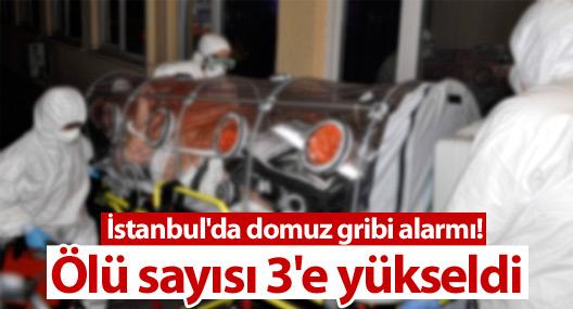 İstanbul'da domuz gribi alarmı: Ölü sayısı 3'e yükseldi
