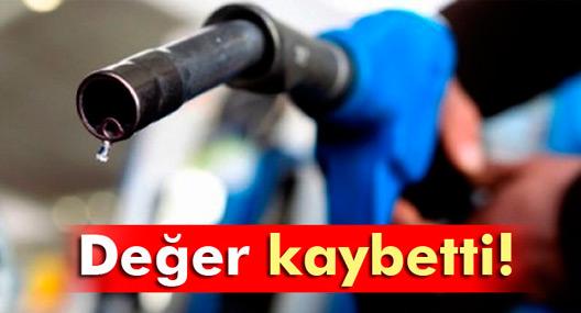 Petrol değer kaybetti