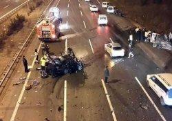 Ankara'da feci trafik kazası: 3 ölü!