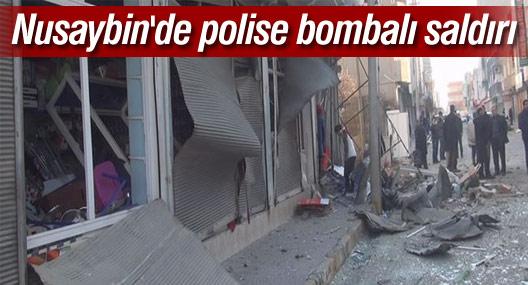 Nusaybin'de polise bombalı saldırı