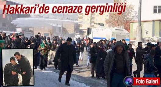 Hakkari'de cenaze gerginliği