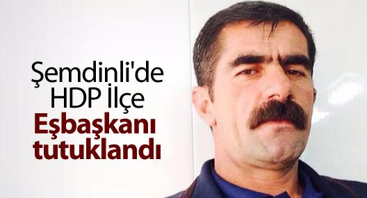 Şemdinli'de HDP İlçe Eşbaşkanı tutuklandı