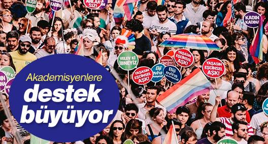 LGBTİ örgütlerinden Barış İçin Akademisyenler'e destek