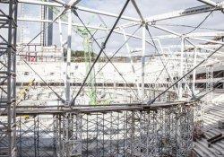 Vodafone Arena'da işçi ölümü