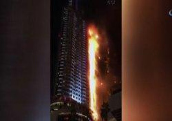 Dubai'deki 63 katlı otelde çıkan yangının nedeni belirlendi