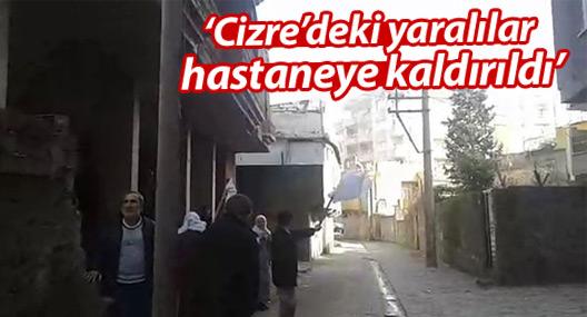 HDP: Cizre'deki yaralılar hastaneye kaldırıldı