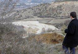 Kastamonu'da HES kanalı çöktü