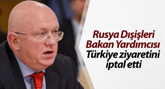 Rusya Dışişleri Bakan Yardımcısı Türkiye ziyaretini iptal etti