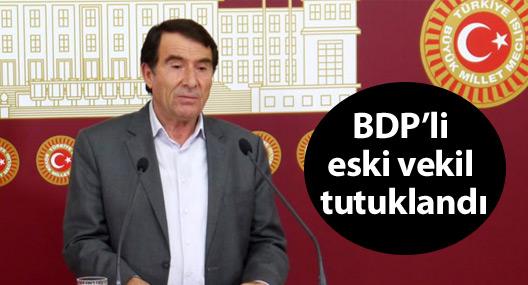 BDP'li eski vekil Halil Aksoy tutuklandı