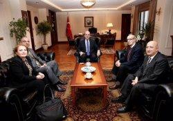 TGC'den Başbakan Yardımcısı Numan Kurtulmuş'a ziyaret