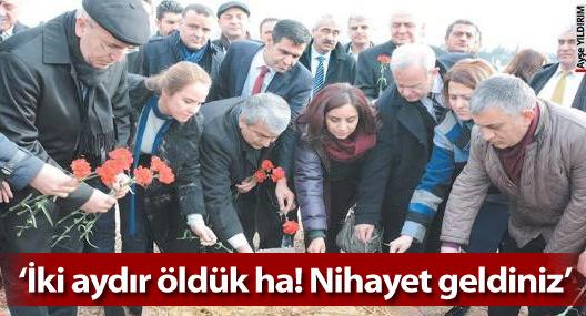 Diyarbakır halkından CHP heyetine: Nihayet geldiniz; biz burada öldük!