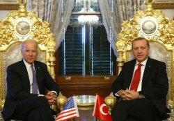 Erdoğan Biden ile görüşüyor