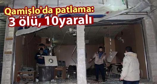 Qamişlo'da patlama: 3 ölü, 10 yaralı