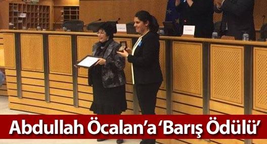 Uluslararası Barış Bürosu'ndan PKK liderine 'Barış Ödülü'