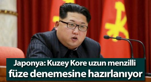 Japonya: Kuzey Kore uzun menzilli füze denemesine hazırlanıyor