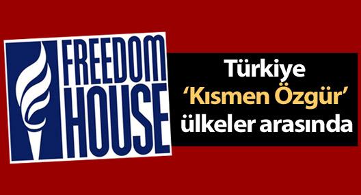 Freedom House: Türkiye 'Kısmen Özgür' ülkeler arasında