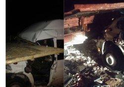 Çat'ta trafik kazası: 1 ölü, 5 yaralı