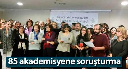 İÜ ve Yıldız'da 85 akademisyene soruşturma