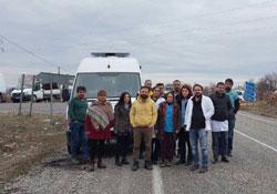 Sağlıkçılar Nusaybin üzerinden Cizre'ye ulaşmaya çalışacak
