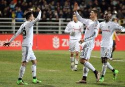 Beşiktaş ve Konyaspor çeyrek finalde