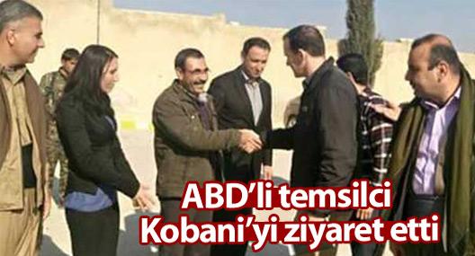 Obama'nın IŞİD Karşıtı Koalisyon Temsilcisi, Kobani'yi ziyaret etti