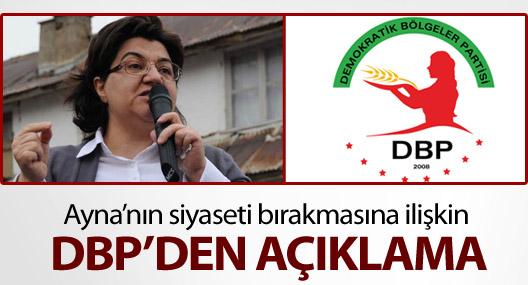 DBP: Geleceği AKP'nin insafına terk edemeyiz