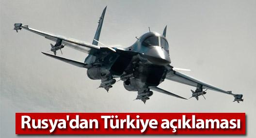 Rusya'dan Türkiye açıklaması: NATO hava sahası gibi bir kavram yok