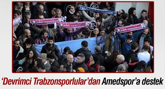 'Devrimci Trabzonsporlular'dan Amedspor'a destek