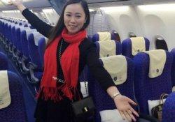 Çinli kadın 'dünyanın en şanslı yolcusu' oldu