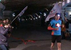 Yeraltında 10 kilometrelik yarış