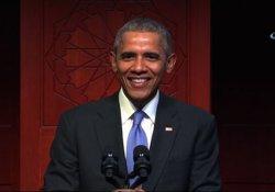Obama'dan 8 yıllık başkanlık döneminde bir ilk