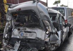 Korkutan zincirleme kaza: 5 yaralı