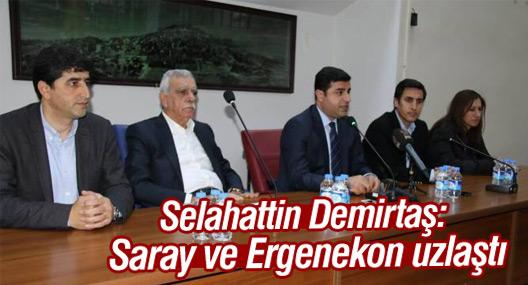 Demirtaş: Saray ve Ergenekon uzlaştı