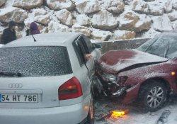 Bilecik'te zincirleme trafik kazası