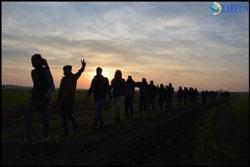 Botan yürüyüşçüleri Cizre yolunda