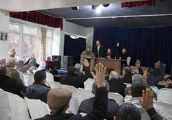 TUHAD-DER tutuklu aileleriyle bir araya geldi