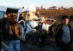 Lice'de kaza: 7 ölü