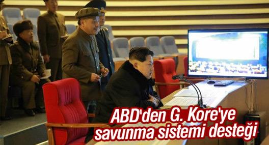 ABD'den G. Kore'ye savunma sistemi desteği