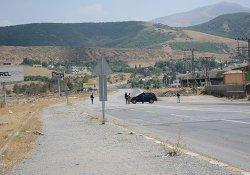 Van-Bitlis yolunda patlama
