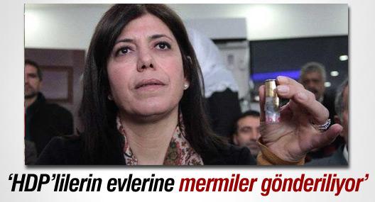 Beştaş: HDP'li yöneticilerin evlerine mermiler gönderiliyor